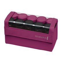 Remington Compact Ceramic Hot Rollers,10 count, Hair Setter, Hot Curling Roller, H1015
