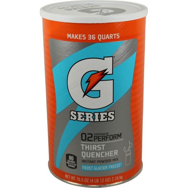 Gatorade Powder, Frost Glacier Freeze, 76.5 oz