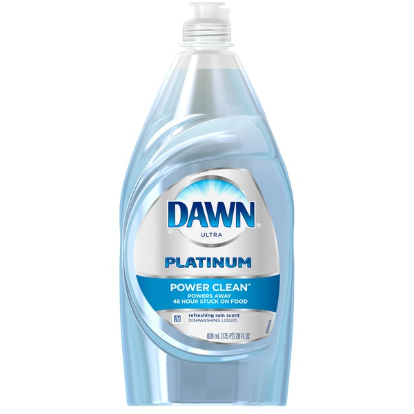 Dawn Platinum Refreshing Rain Scent Dishwashing Liquid