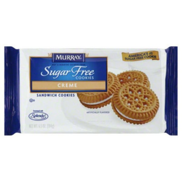 Murray Sugar Free Creme Sandwich Cookies