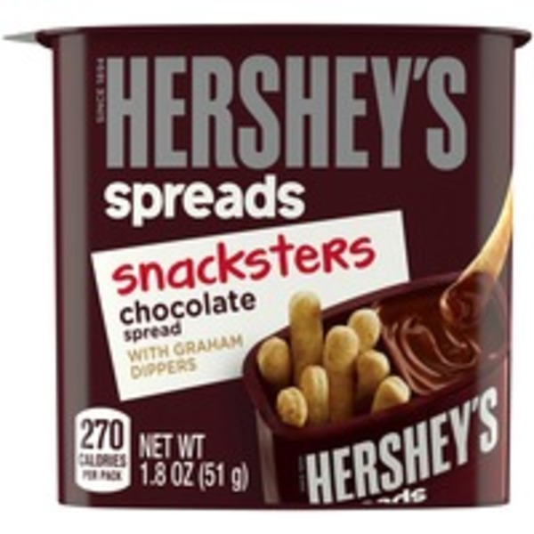 Hershey Chocolate Spread with Graham Dippers Snacksters