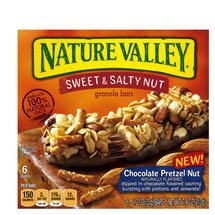 Nature Valley Chocolate Pretzel Nut Sweet & Salty Nut Granola Bars