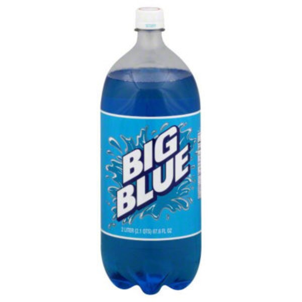 Big Blue Soda