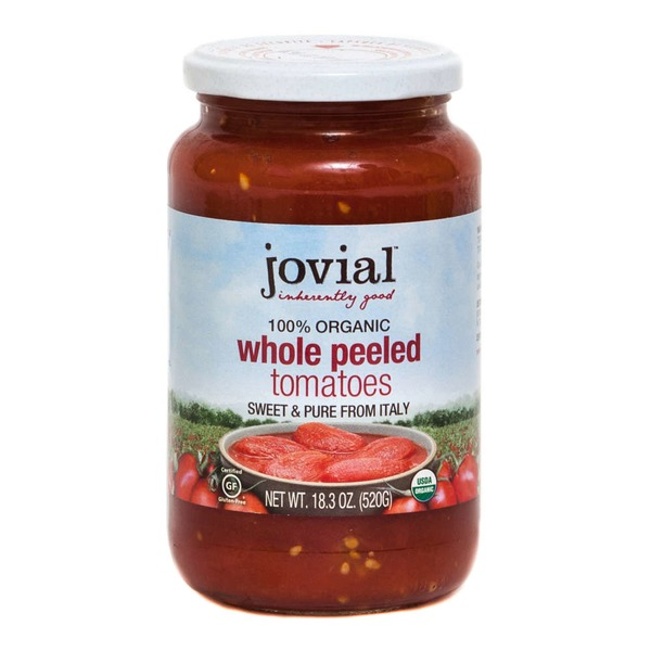 Jovial 100% Organic Whole Peeled Tomatoes