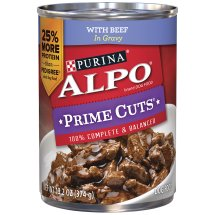 Purina ALPO Prime Cuts with Beef Wet Dog Food, 13.2 Oz.