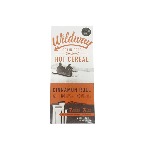 Wildway Hot Cereal Grain Free Cinnamon Roll