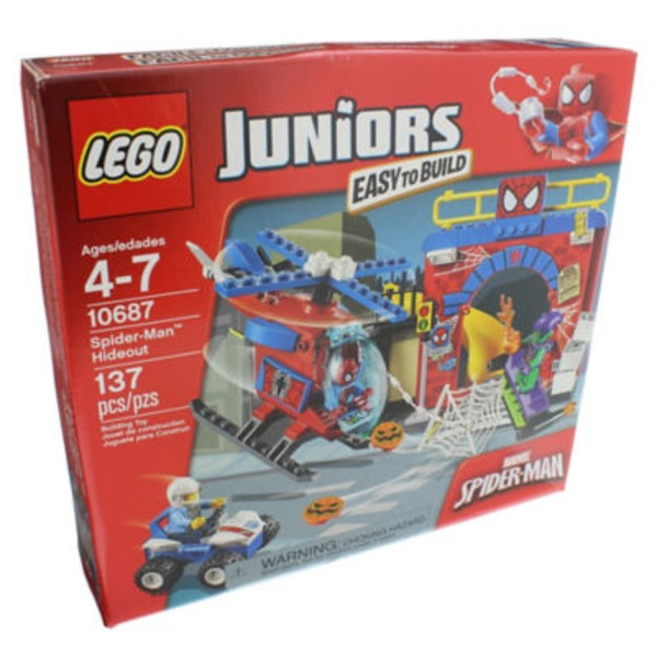 Lego Juniors Spider Man Hideout