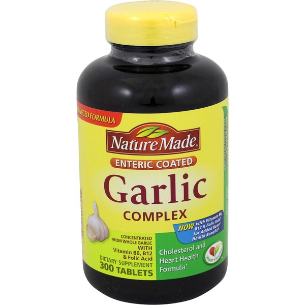 Nature Made Garlic Complex Tablets