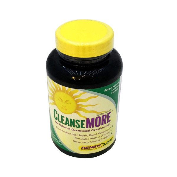Renew Life CleanseMore Vegetable Capsules