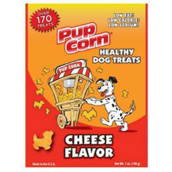 Pupcorn Cheese Flavor Healthy Dog Treats
