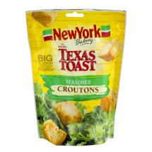 New York Texas Toast Croutons Seasoned, 5.0 OZ