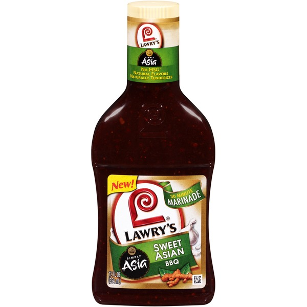 Lawry's Simply Asia Sweet Asian BBQ Marinade