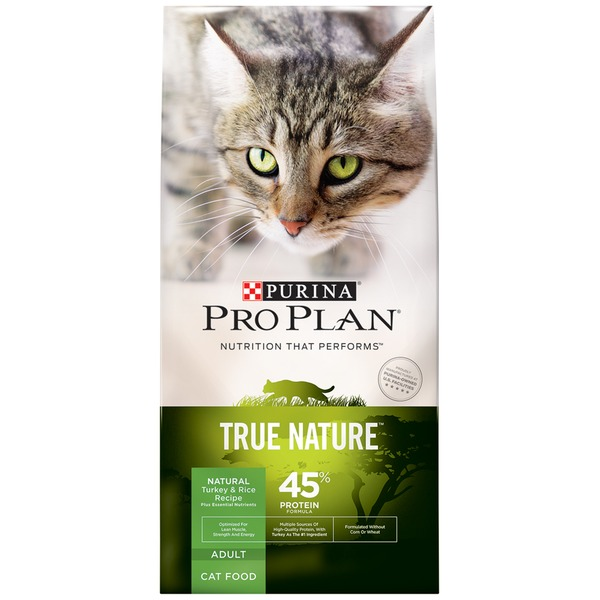 Pro Plan Cat Dry True Nature Adult Turkey & Rice Recipe Cat Food
