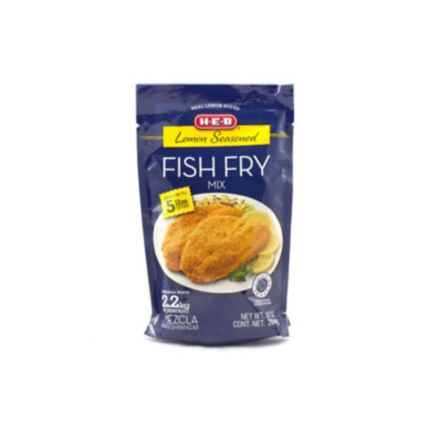 H-E-B Lemon Seasoned Fish Fry Mix