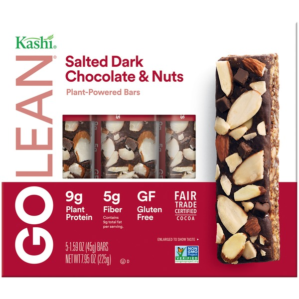 Kashi Salted Dark Chocolate & Nuts Plant-Powered Bars