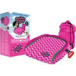 BubbleBum Booster Seat Chevpink