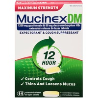 Mucinex Dm Extended-Release Bi-Layer Tablets Expectorant & Cough Suppressant
