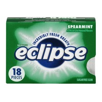 Eclipse Sugarfree Gum Spearmint - 18 CT
