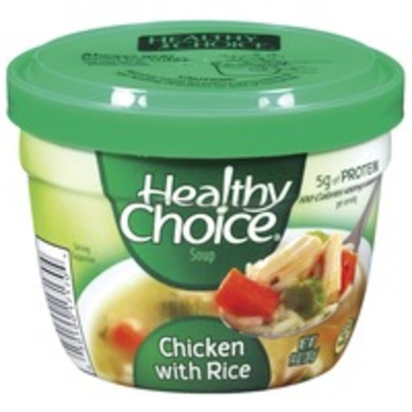 Healthy Choice Chicken W/Rice Soup