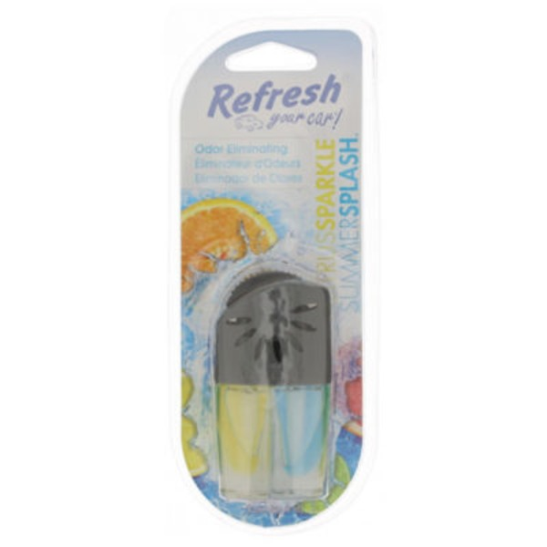 Refresh Your Car Citrus Sparkle\Summer Splash Dual Scented Oil Wick