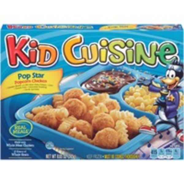 Kid Cuisine Pop Star Popcorn Chicken Frozen Dinner