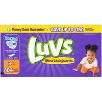 Luvs Ultra Leakguards Diapers Size 3 104 count  Diapers