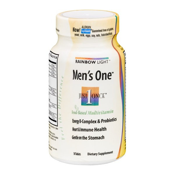 Rainbow Light Men's One Tablets - 30 CT