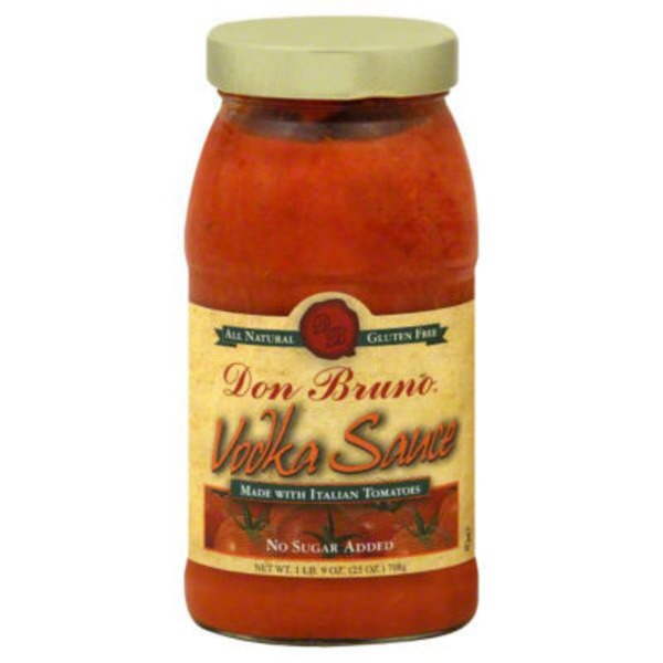 Don Bruno Vodka Sauce