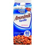 Great Value Vanilla Almond Milk, 64 oz