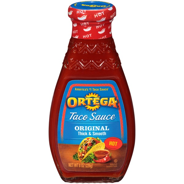 Ortega Hot Original Taco Sauce