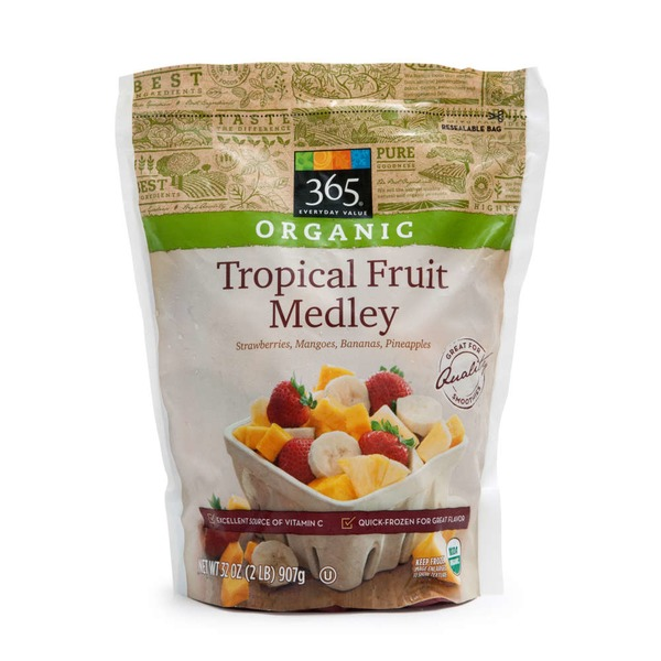 365 Organic Tropical Fruit Medley