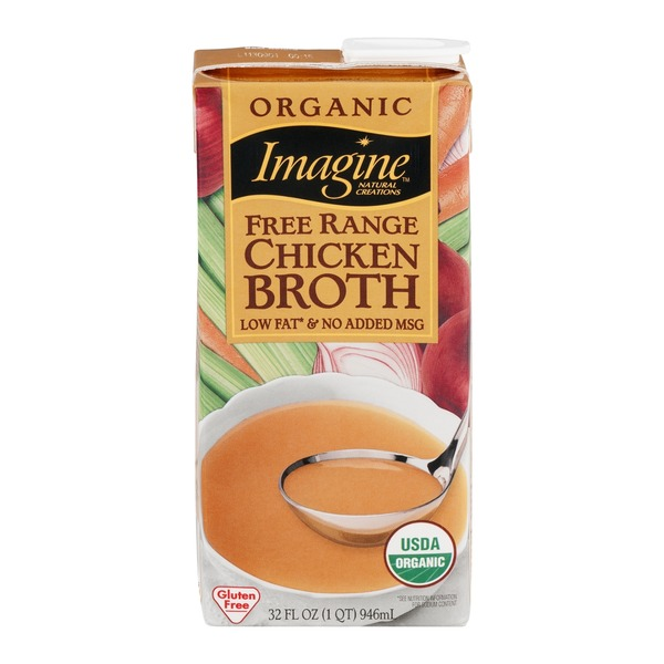Imagine Foods Free Range Chicken Broth