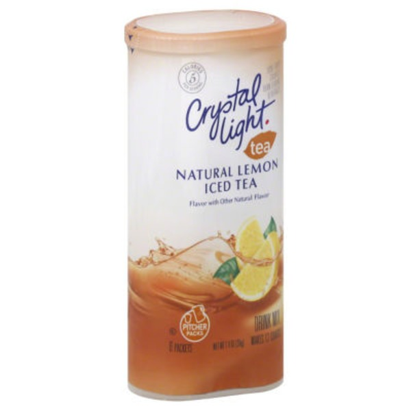 Crystal Light Lemon Iced Tea 12 qt Drink Mix