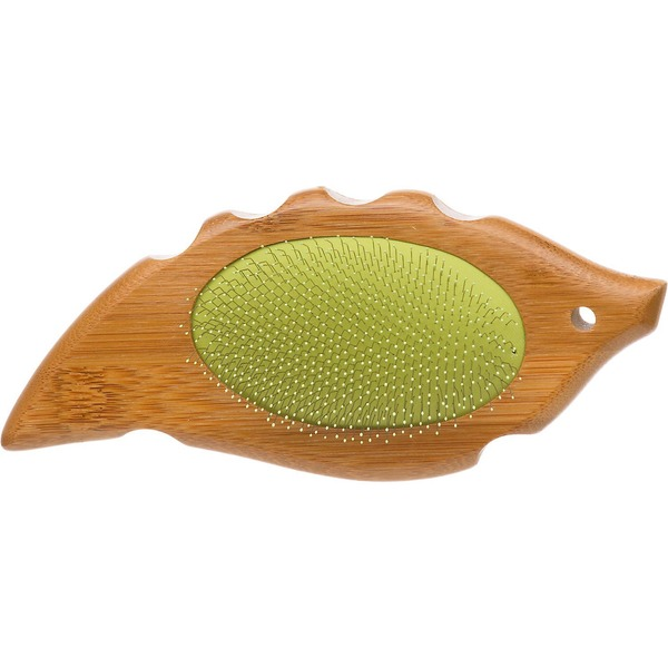Planet Petco Bamboo Palm Slicker Dog Brush