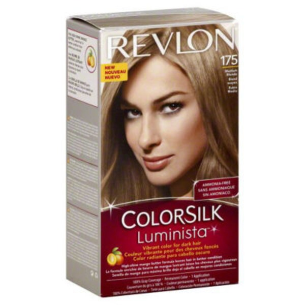 Revlon Colorsilk Luminista Medium Blonde 175  Permanent Hair Color