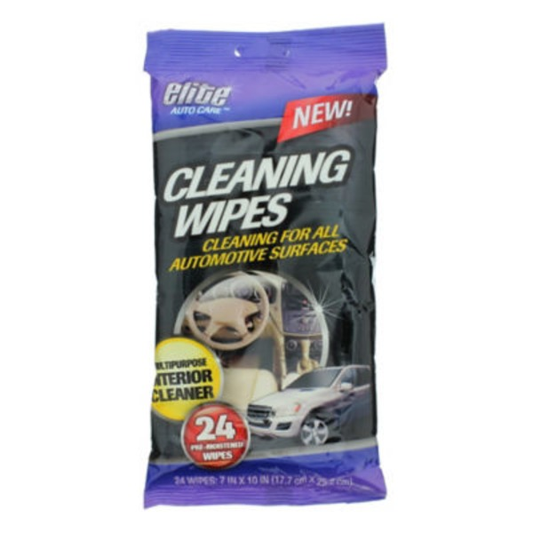 Elite Auto Care Cleaning Wipes
