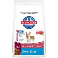 Hill's Science Diet Advanced Fitness Small Bites Adult Chicken & Barley Recipe Dog Food