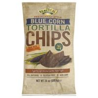 The Real Dill Snacks Restaurant Style Blue Corn Tortilla Chips
