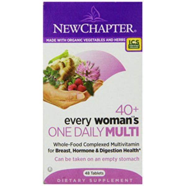 New Chapter 40+ Every Woman's One Daily Multivitamin Tablets