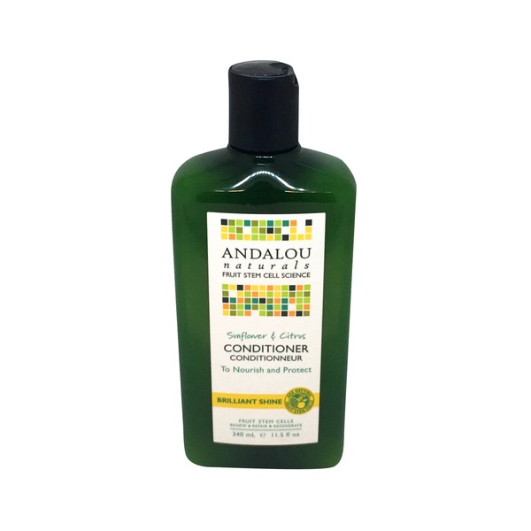 Andalou Naturals Conditioner, Healthy Shine, Sunflower & Citrus
