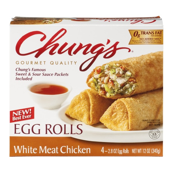 Chung's White Meat Chicken Egg Rolls