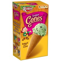 Keebler Sugar Cones Baked with Care, 12 count, 4 oz