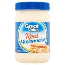 Great Value Real Mayonnaise, 15 fl oz