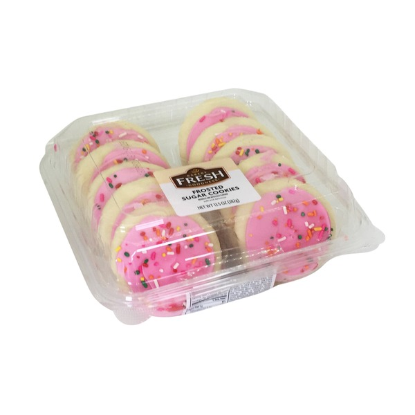 Bakery Fresh Goodness Pink Frosted Sugar Cookies