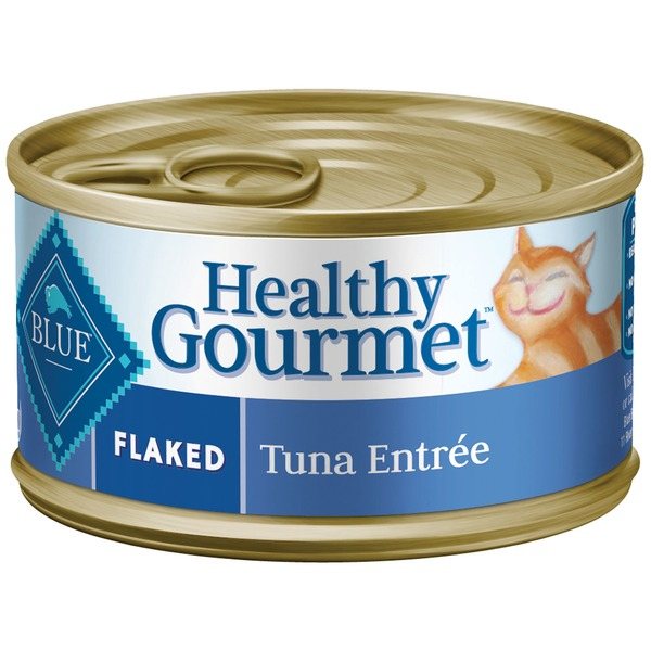 Blue Buffalo Food for Cats, Natural, Flaked, Tuna Entree