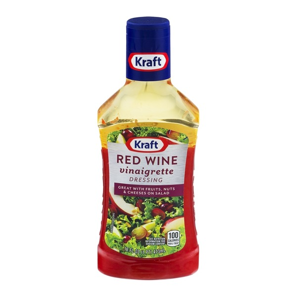 Kraft Salad Dressing Red Wine Vinaigrette Dressing