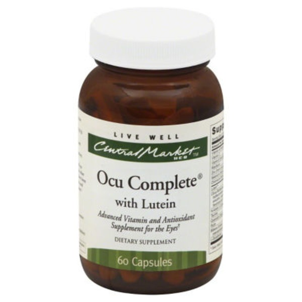 Central Market Ocu Complete With Lutein Capsules
