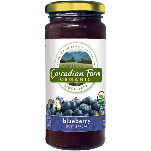Cascadian Farm Organic Blueberry Fruit Spread