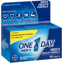 One A Day Men's Health Formula Multivitamin Tablets, 60 Count