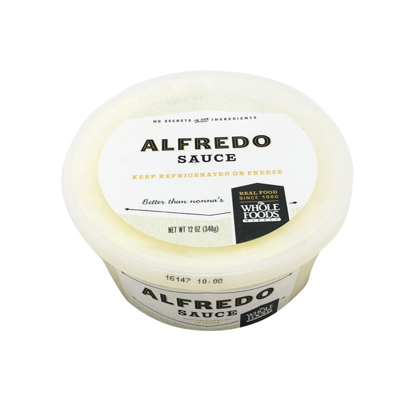 Whole Foods Market Alfredo Sauce